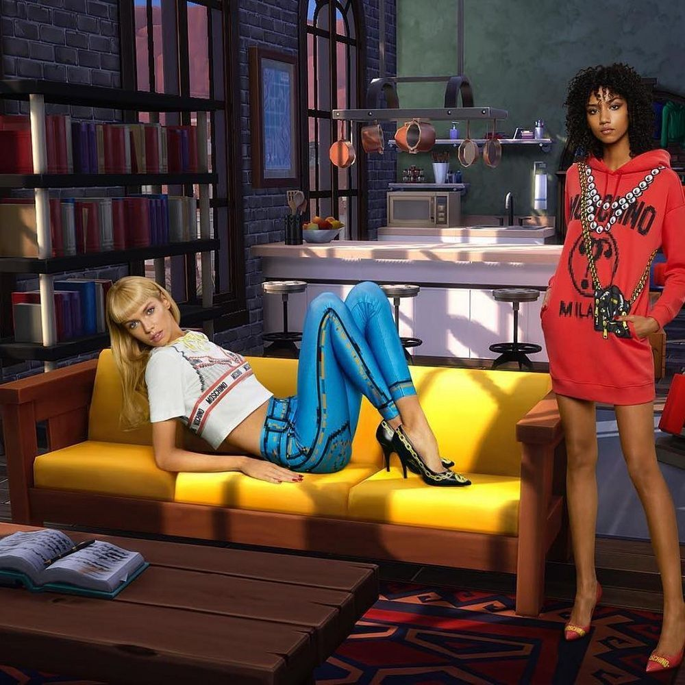 Moschino Launches A Sims' Inspired Capsule Collection