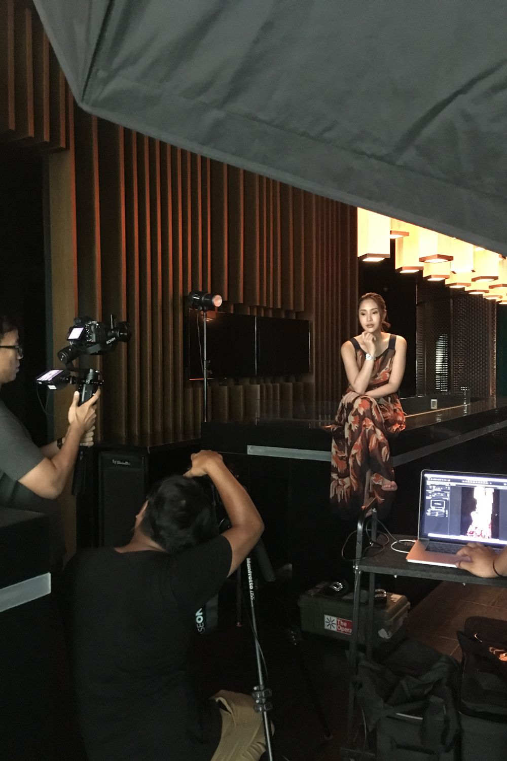 Behind The Scenes Of Ploychompu Umpujh's Cover Shoot