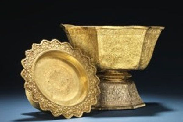 King Rama V's Golden Bowls Are Up For Auction In Denmark