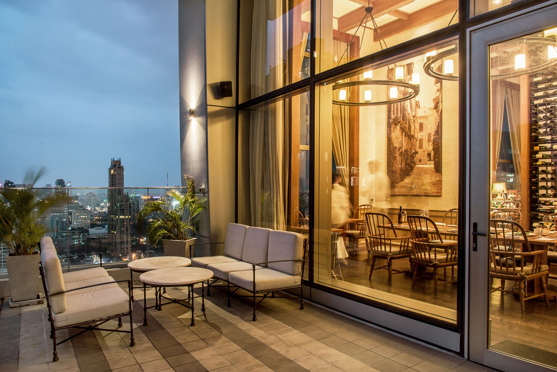Enjoy Alfresco Dining At Bangkok's Only Italian Rooftop—Attico