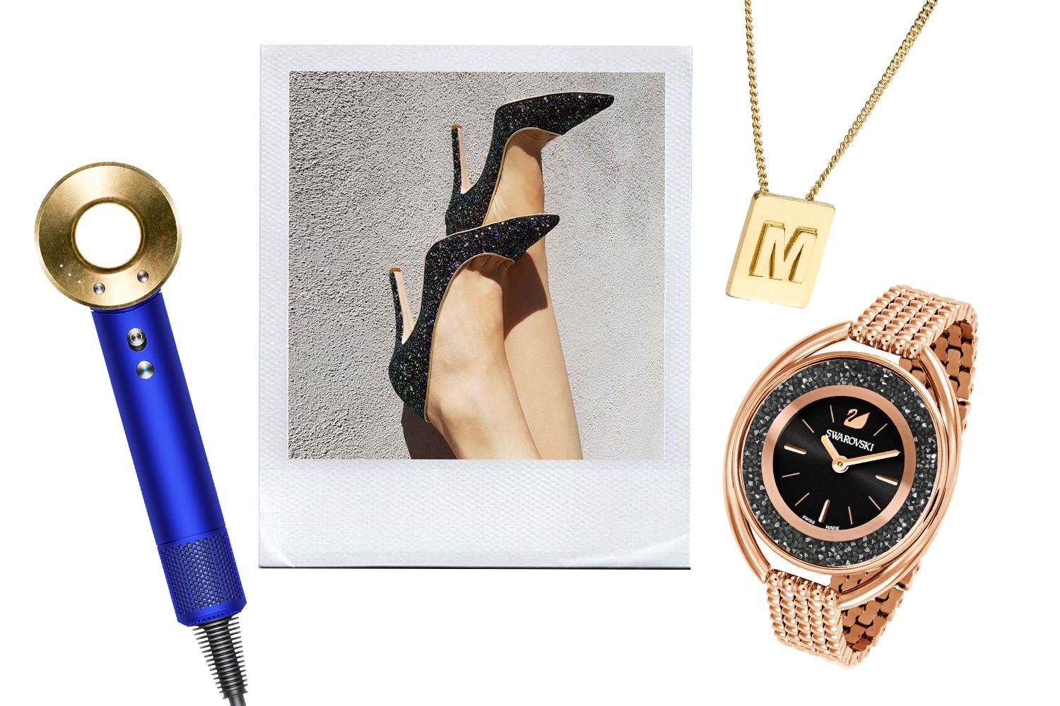 Editor's Picks: Gold Hair Dryers, Crystal Watches, Vegan Shoes And More
