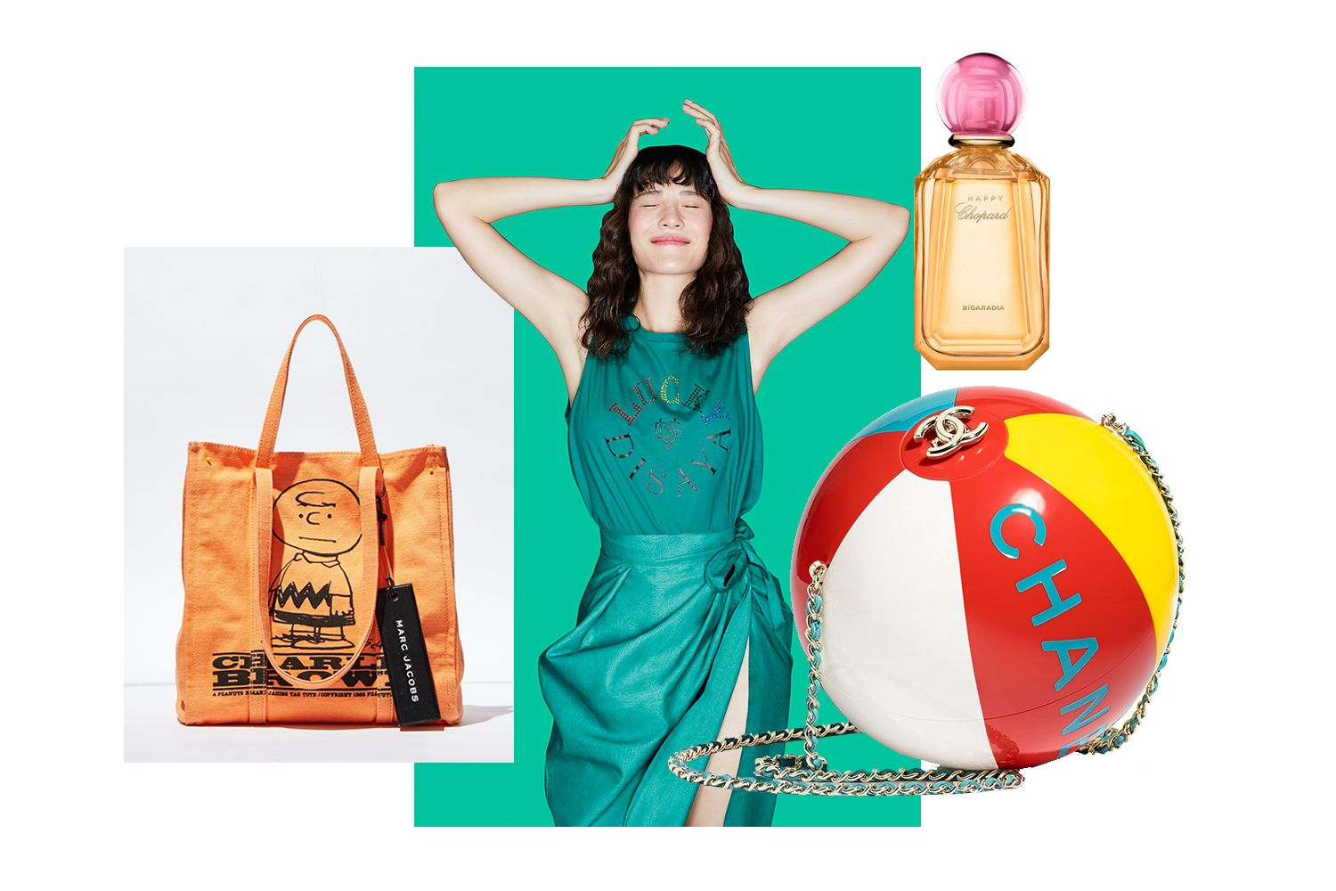 Editor's Picks: Chanel Beach Balls, Lucky Clothes, Happy Scents And More
