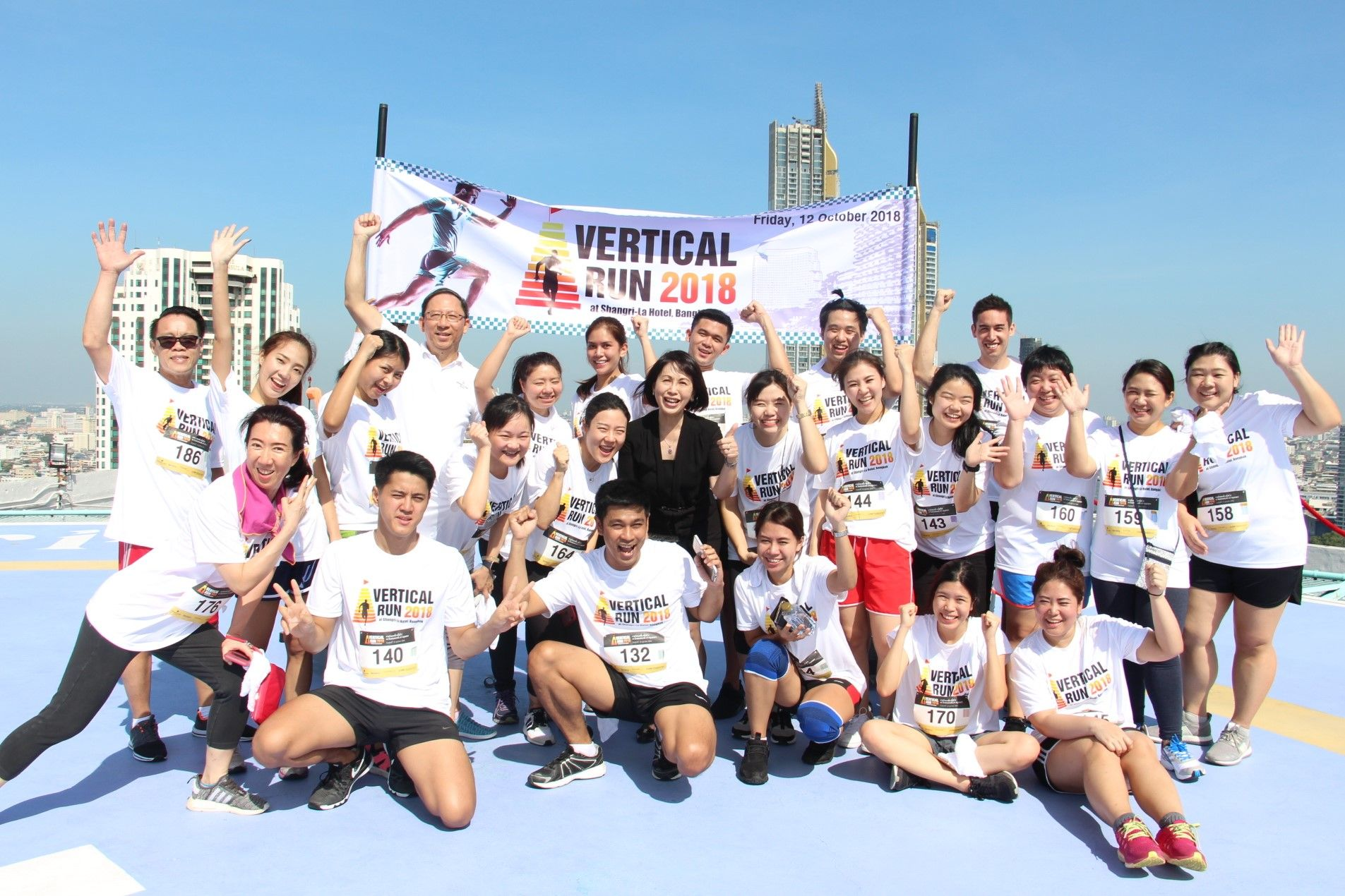 Shangri-la Hotel Challenges Charitable Hearts To Join The Vertical Run 2019