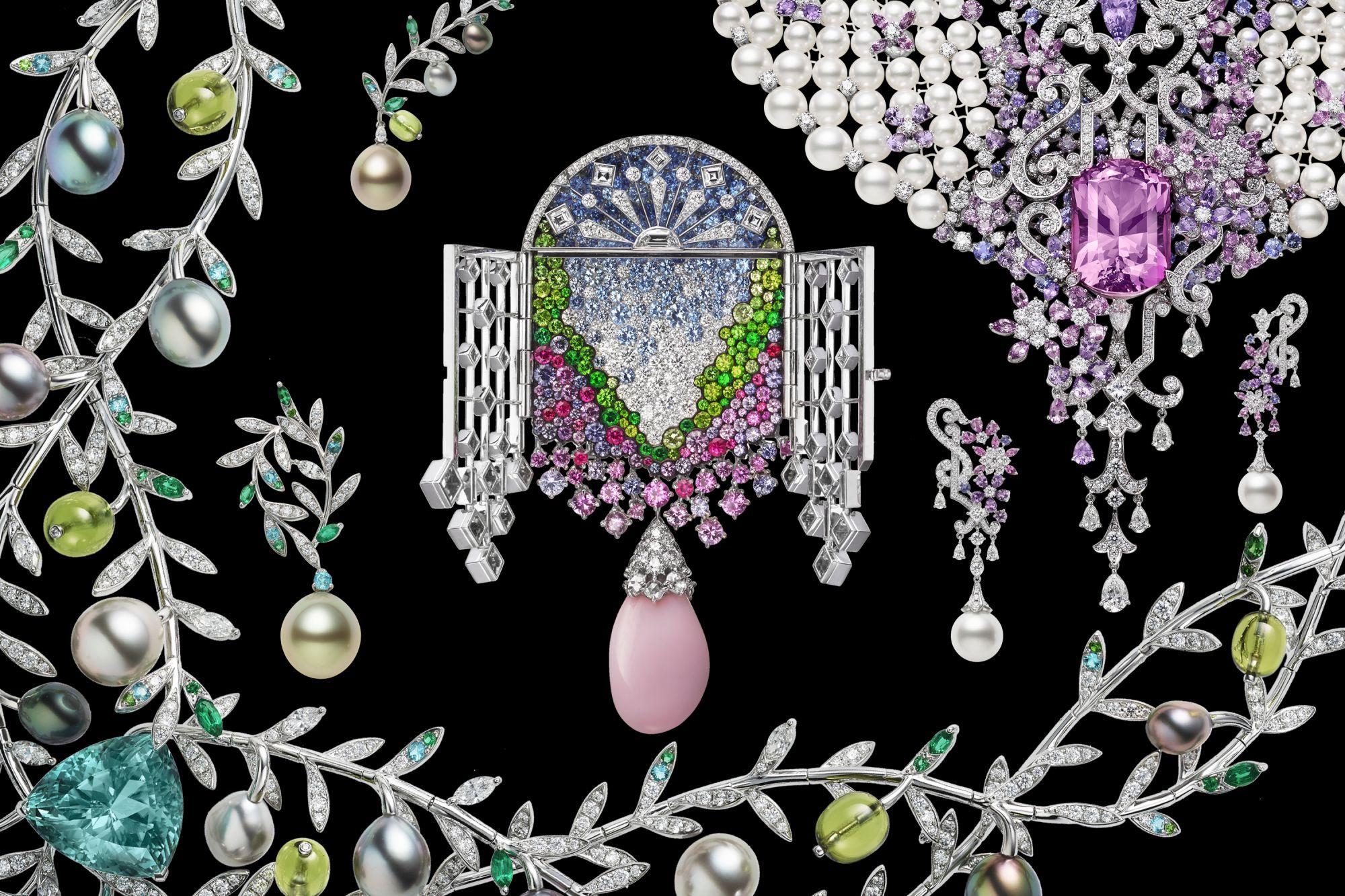 Explore Mikimoto's Jardin Mystérieux Collection