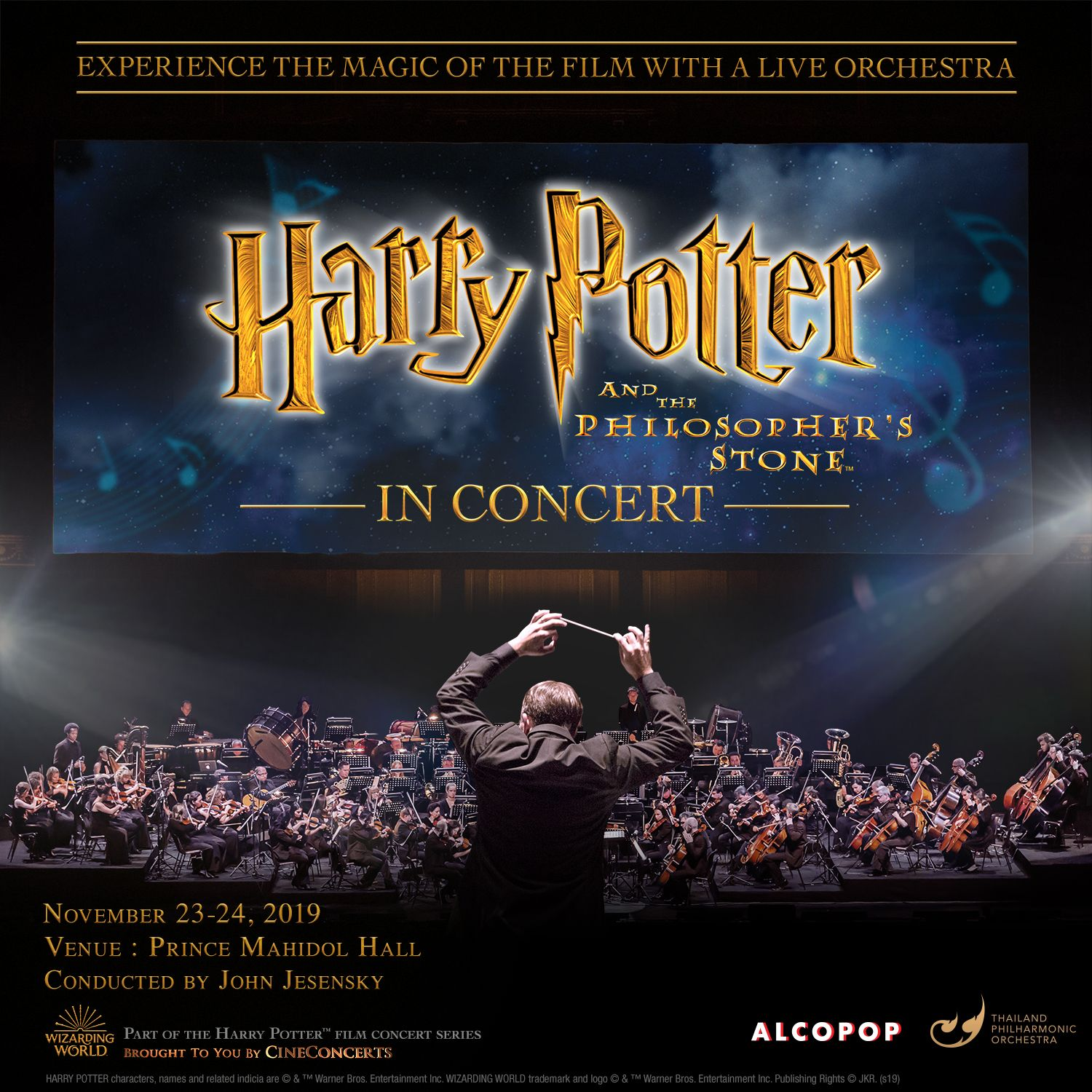 Harry Potter And The Philosopher's Stone In Concert Comes To Bangkok