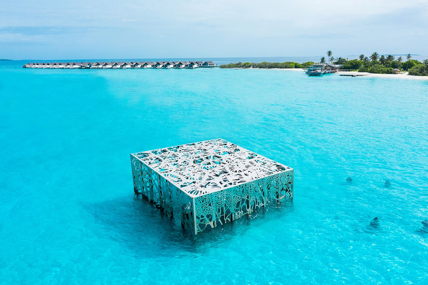 Eco-Art: Fairmont Maldives Unveils Its Spectacular Coralarium