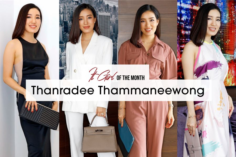 It Girl Of The Month: Thanradee Thammaneewong