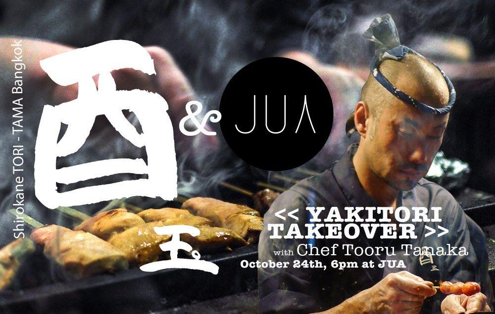 JUA To Set Bangkok's Izakaya Scene On Fire With Shirokane Tori Tama's Chef Tanaka
