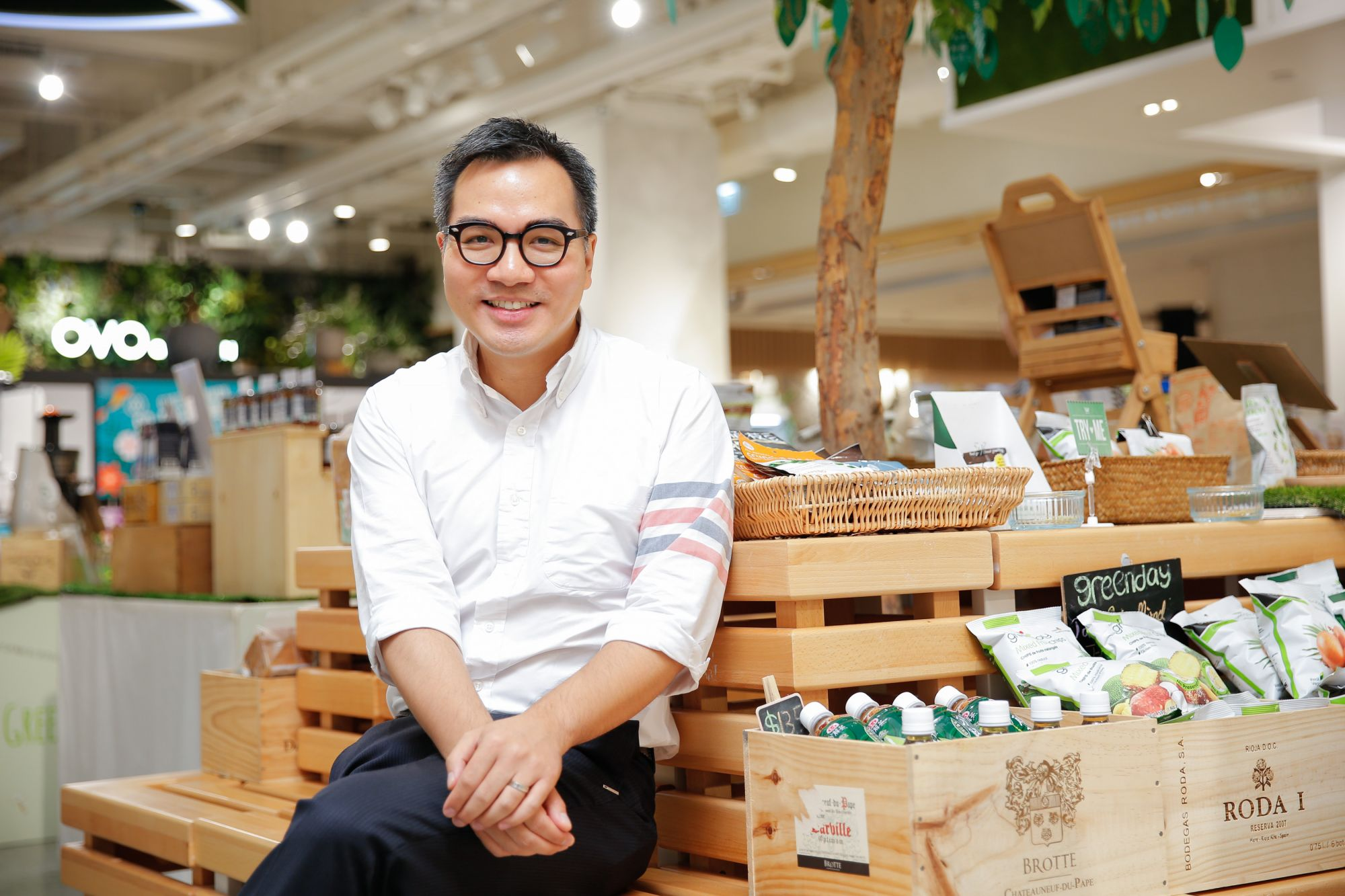 Ready For Change: David Yeung Launches Green Monday In Thailand