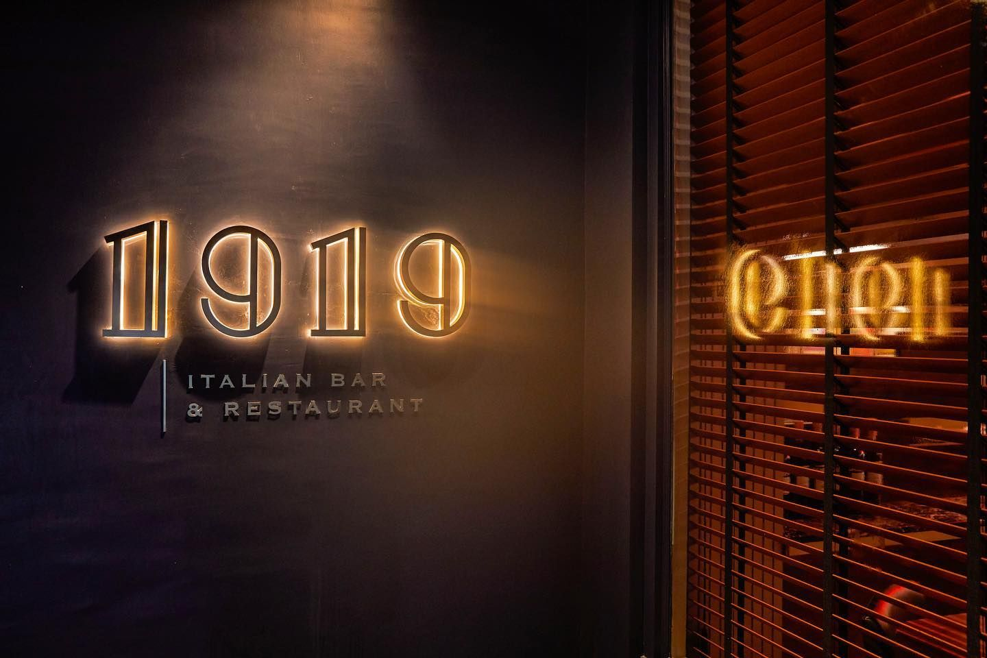 "Italian Food Has Never Tasted Better In Bangkok Than In ""1919"""