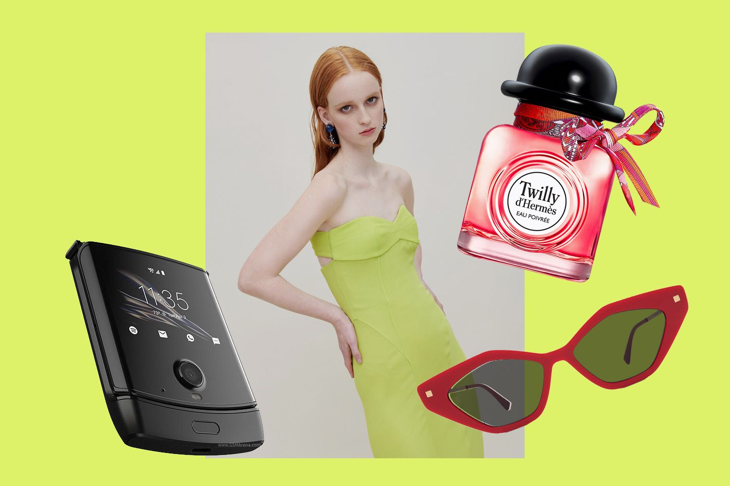 Editor's Picks: Flip Phones, German Eyewear And Something Chartreuse
