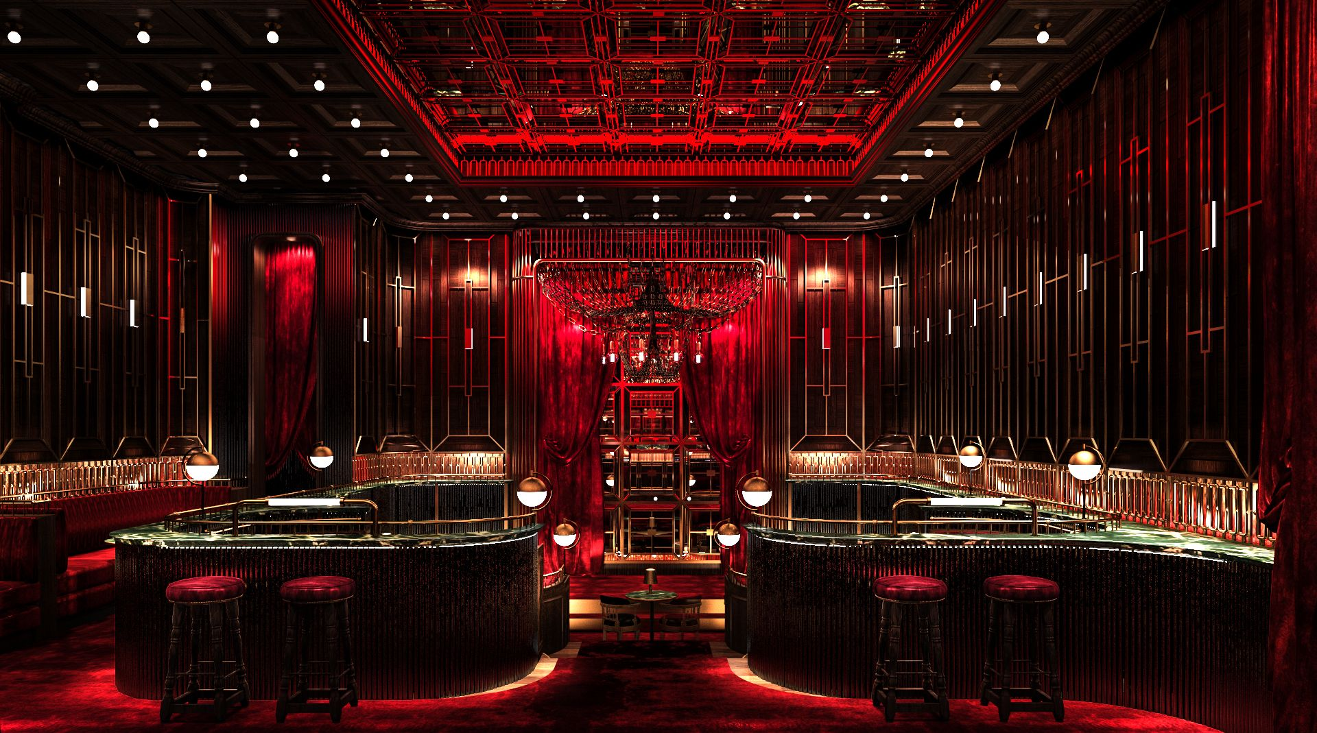Bask In The Glamour Of The Roaring '20s At Crimson Room