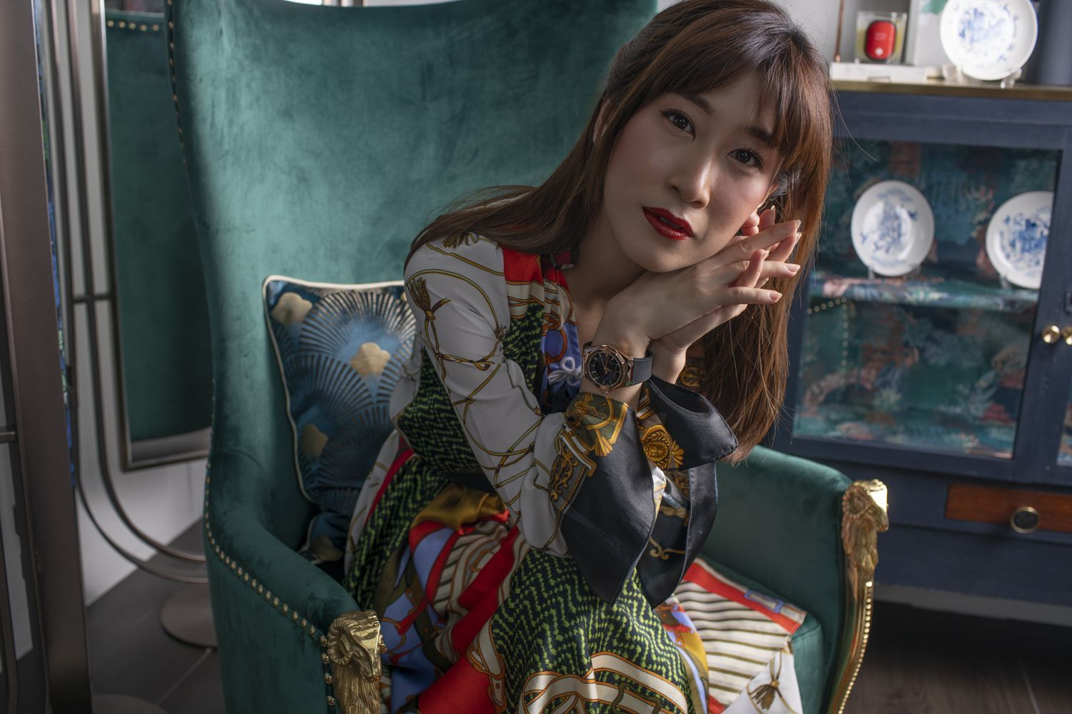 Pomme Chan Wears Hublot And Reflects On The Creative Process