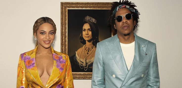"The Meghan Markle ""Mona Lisa"" Painting That Went Viral Because Of Beyonce & Jay-Z"