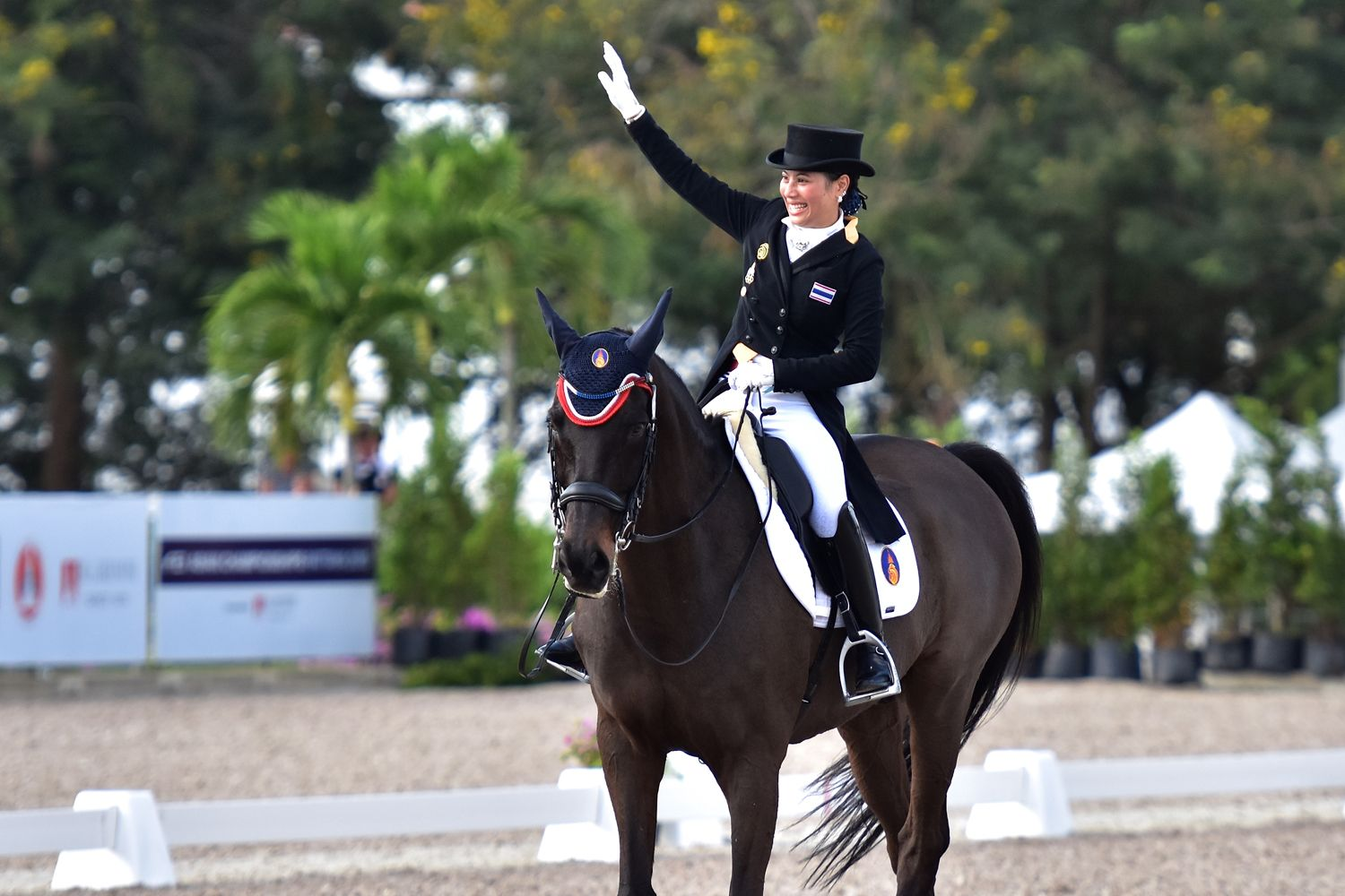 The Thailand Equestrian Federation Makes History As Host Of Asia's First Equestrian Championship