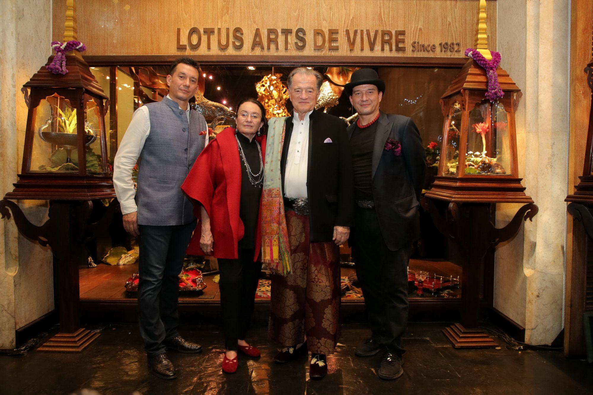 The von Bueren family: Nicki, Helen, Rolf and Sri