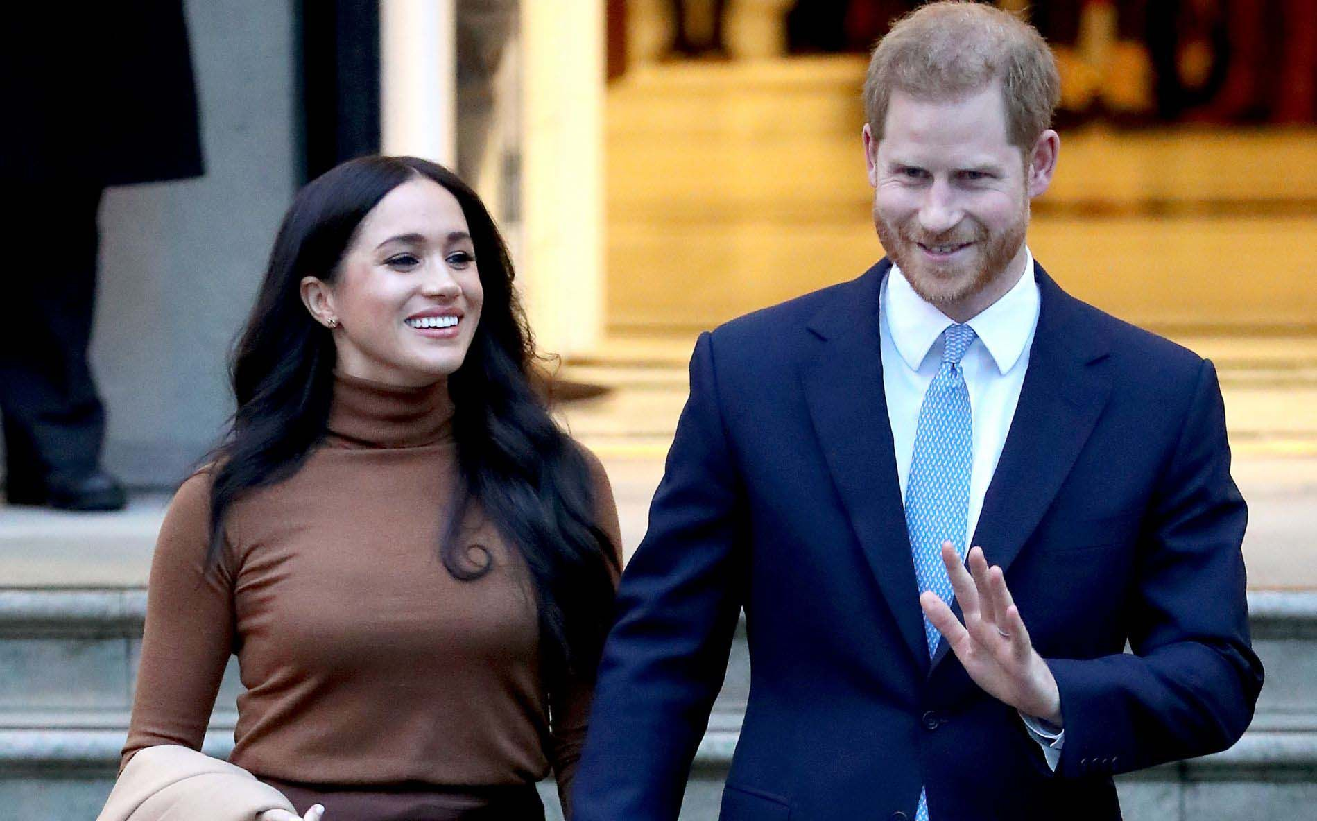 Prince Harry & Meghan Markle Announce Step Away From Senior Royal Roles