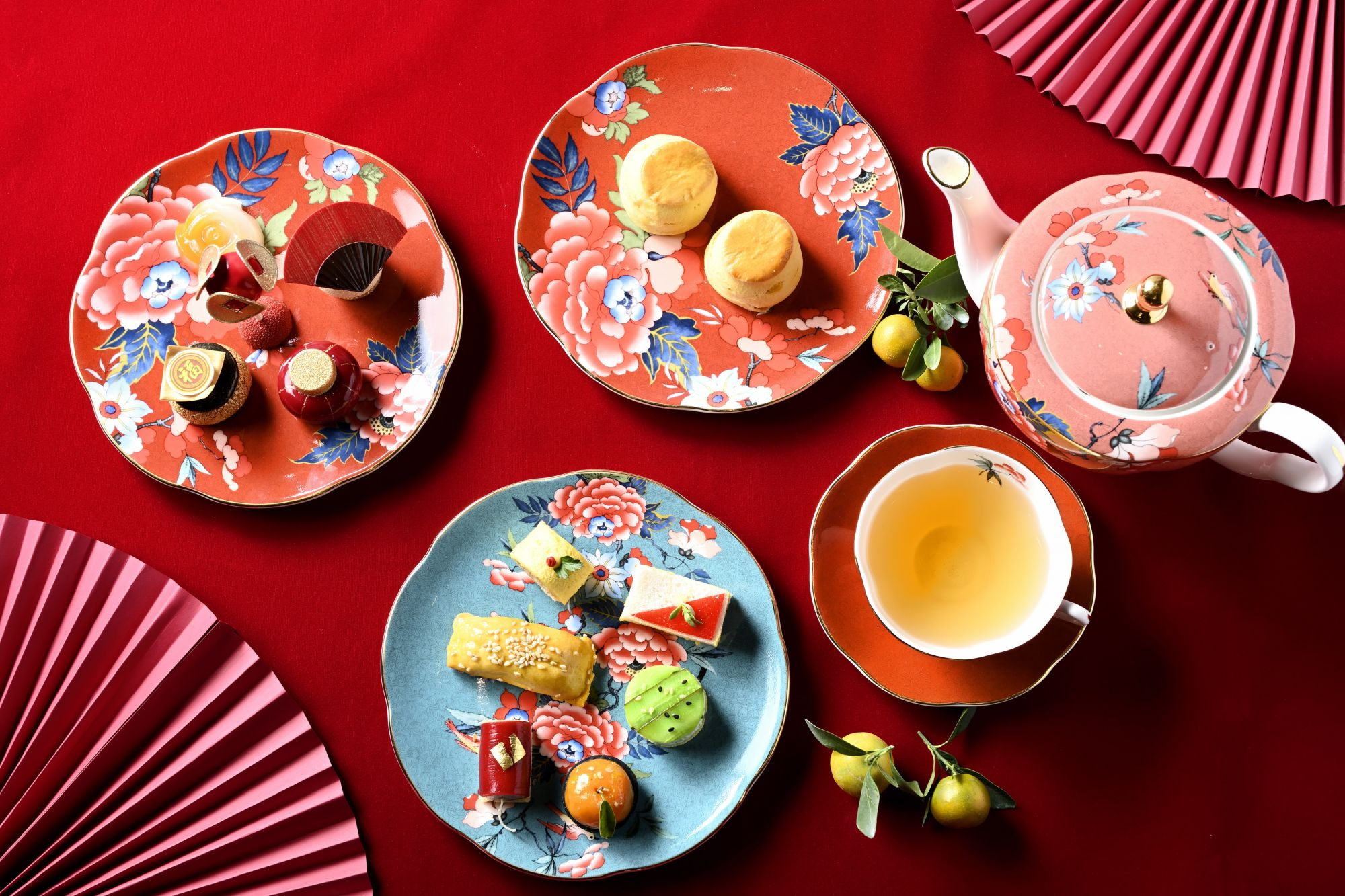 Mandarin Oriental Launches A Special Chinese New Year Themed Afternoon Tea