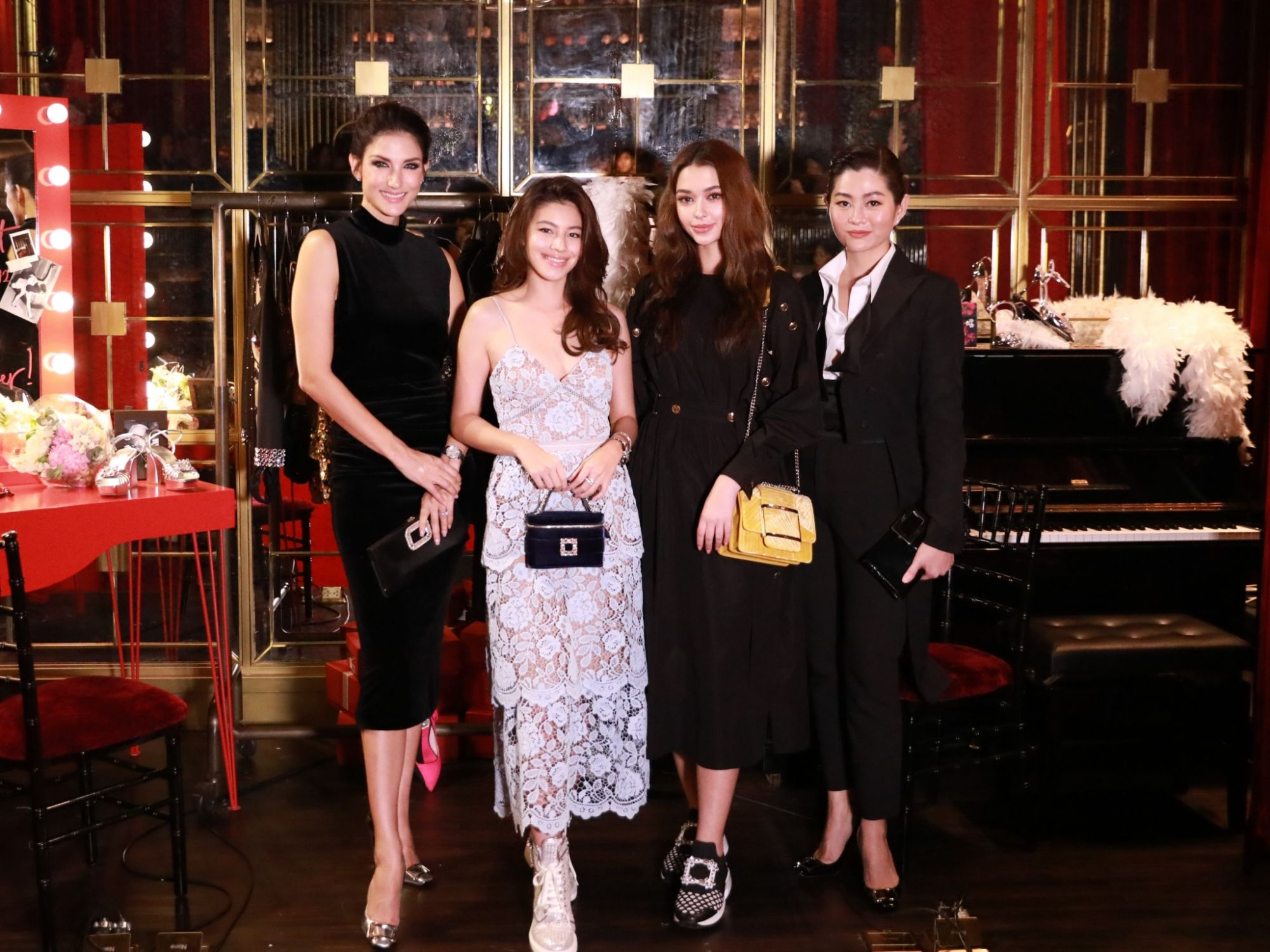 Sophisticates Muse On Roger Vivier At The Brand's SS20 Showcase: Hotel Vivier Call Time