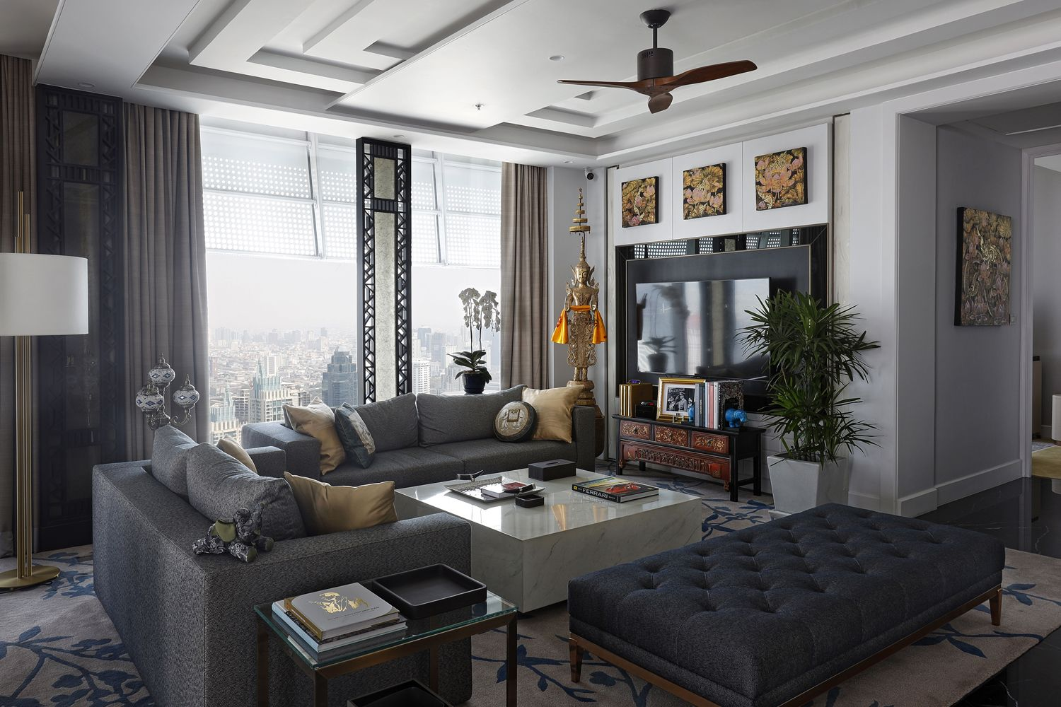 Tatler Home Tour: The View From Count Gerald van der Straten Ponthoz's New Bangkok Condo