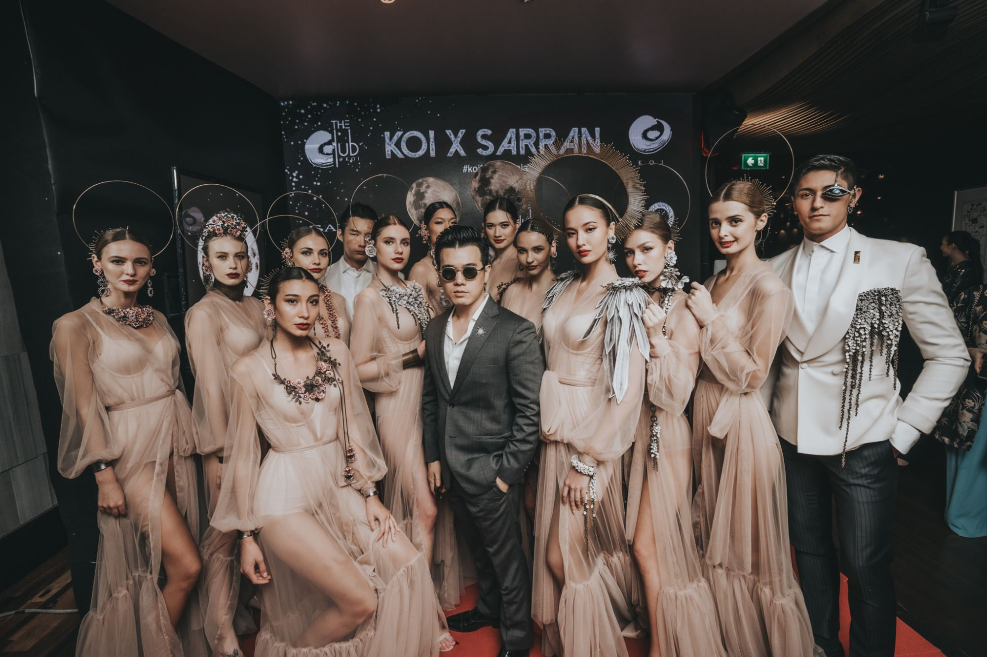 Sarran Youkongdee with models