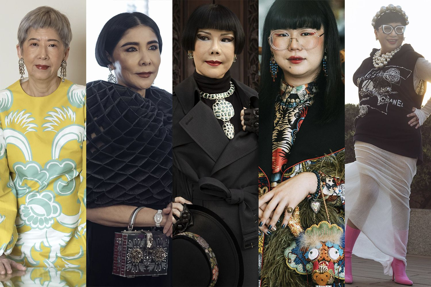 5 Society Fashionistas Who Break The Dress Code
