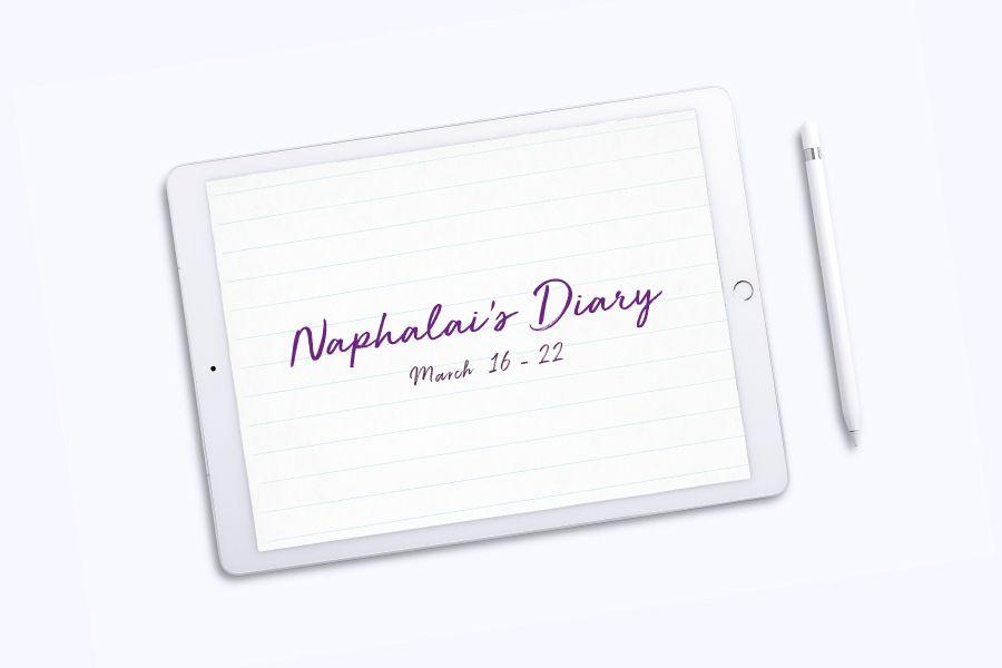 Naphalai's Diary: March 16-22