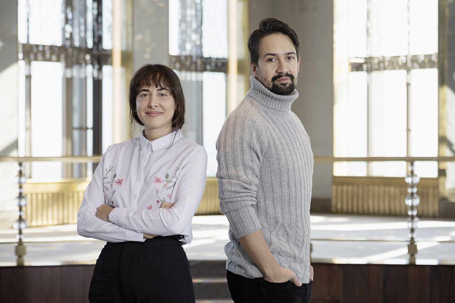 Agustina San Martín finalist in Open Category and Lin Manuel Miranda mentor in Open Category