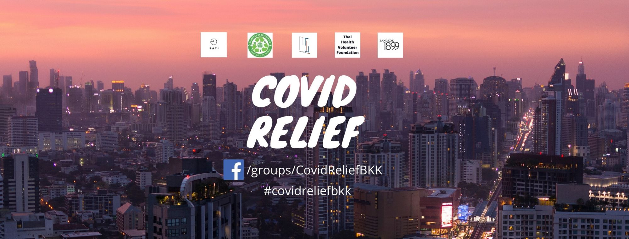 Join 'Covid Relief Bangkok' On Facebook And Literally Save Lives