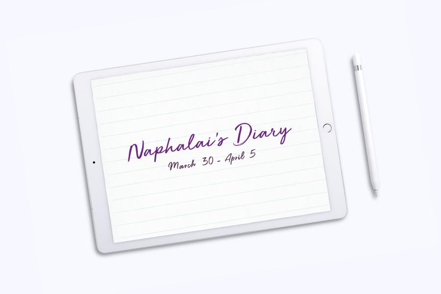 Naphalai's Diary: March 30-April 5
