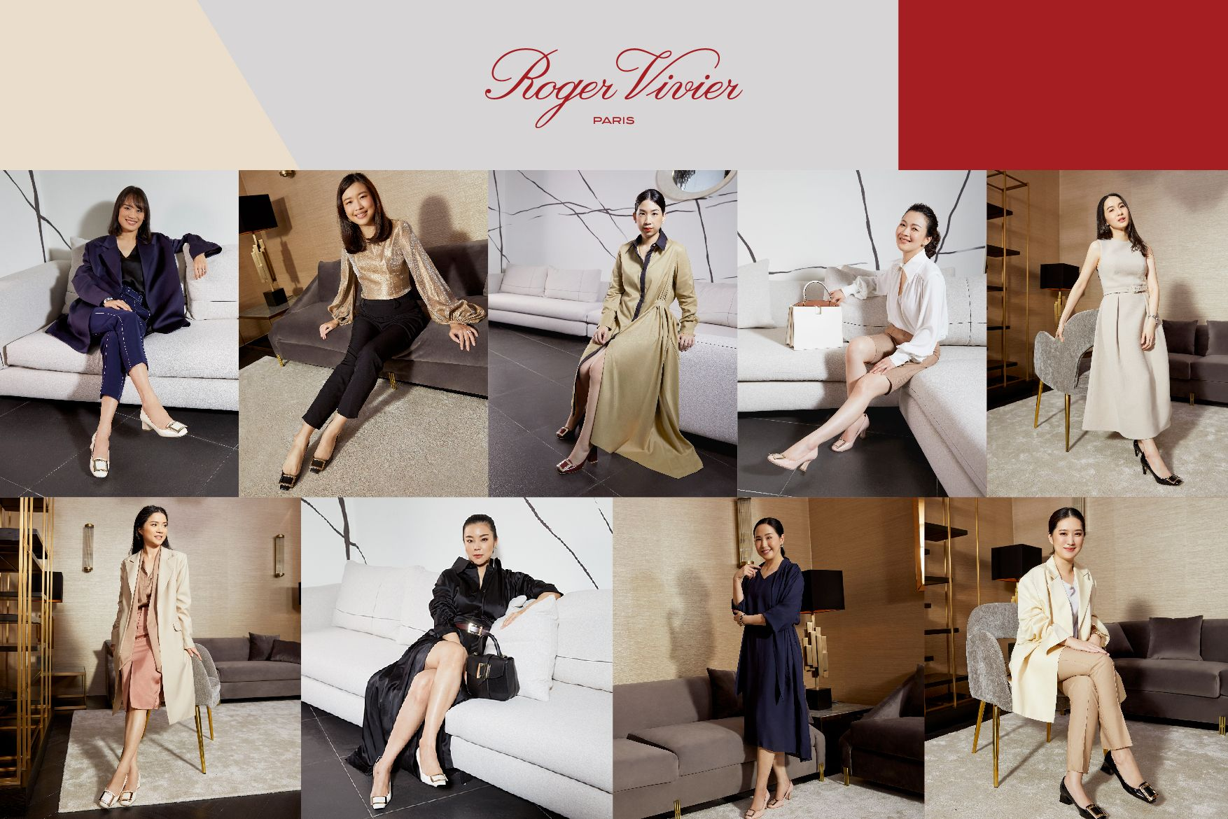 Vivier's Ladies Share The Source of Their Drive For Power And Success