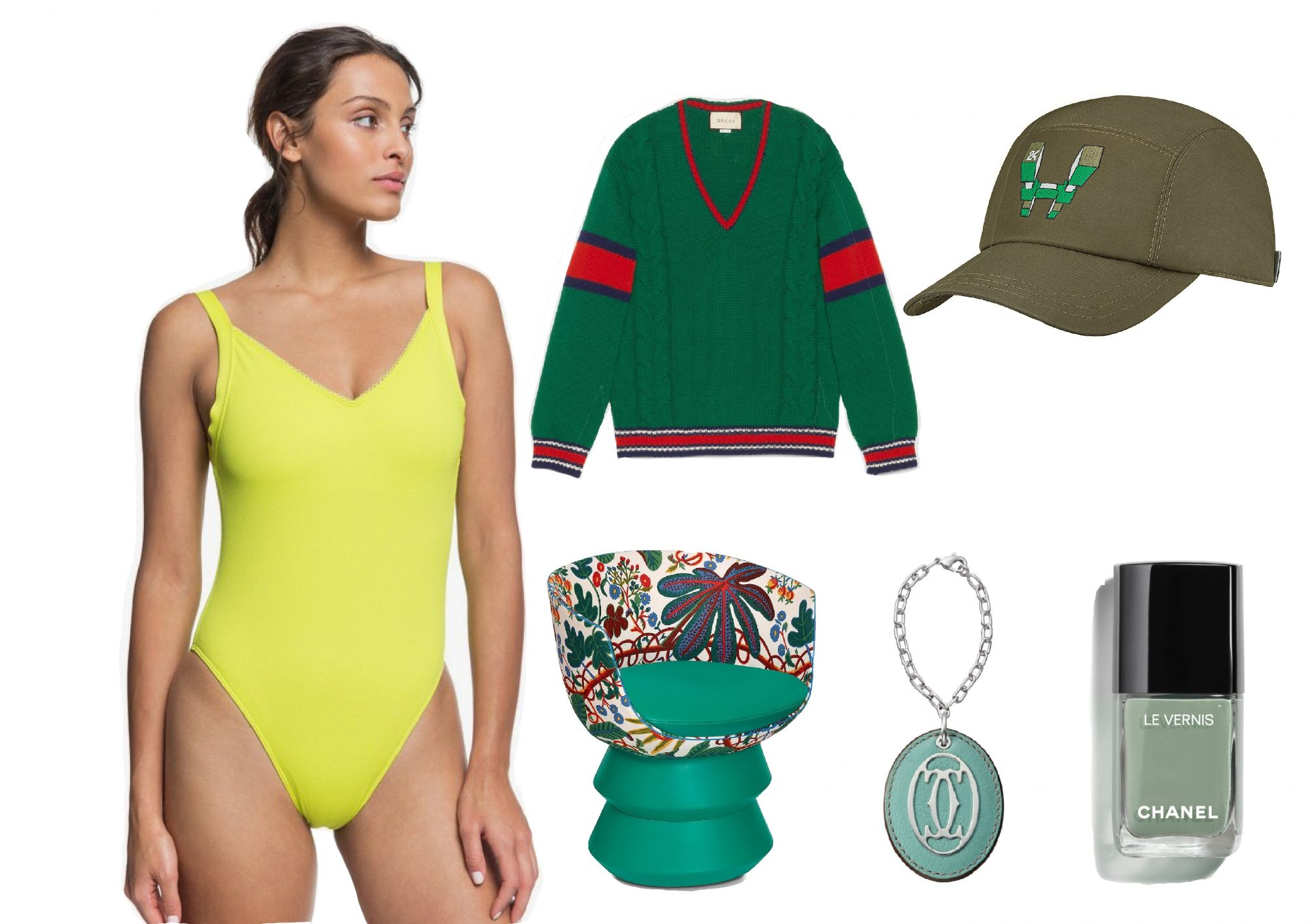 Style By The Colours: Refreshing Green