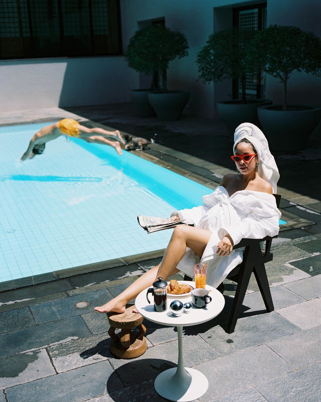 Best Tatlergrams Of The Week: Chilling By The Pool And Family Time