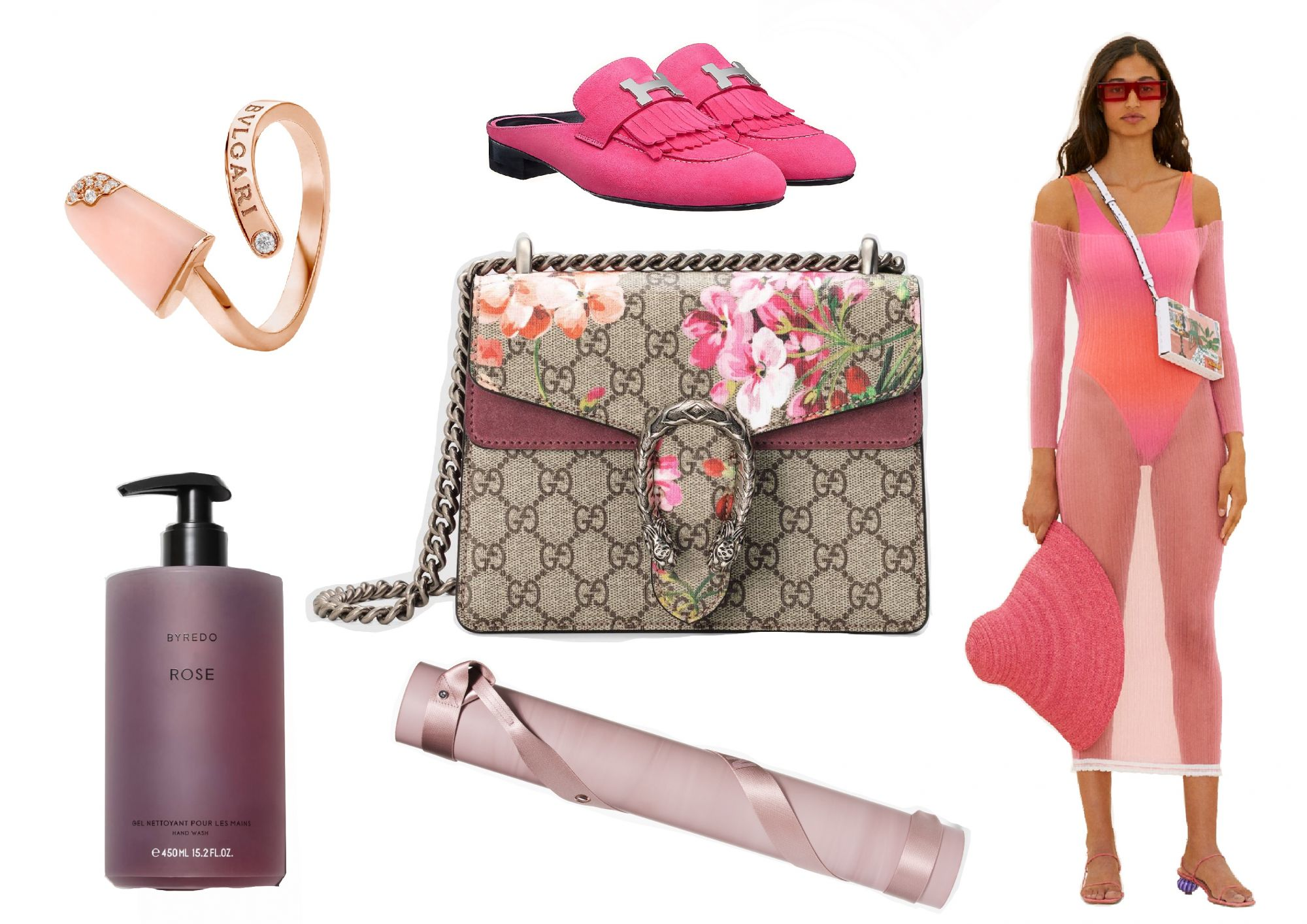 Style By The Colours: Blushing Pink