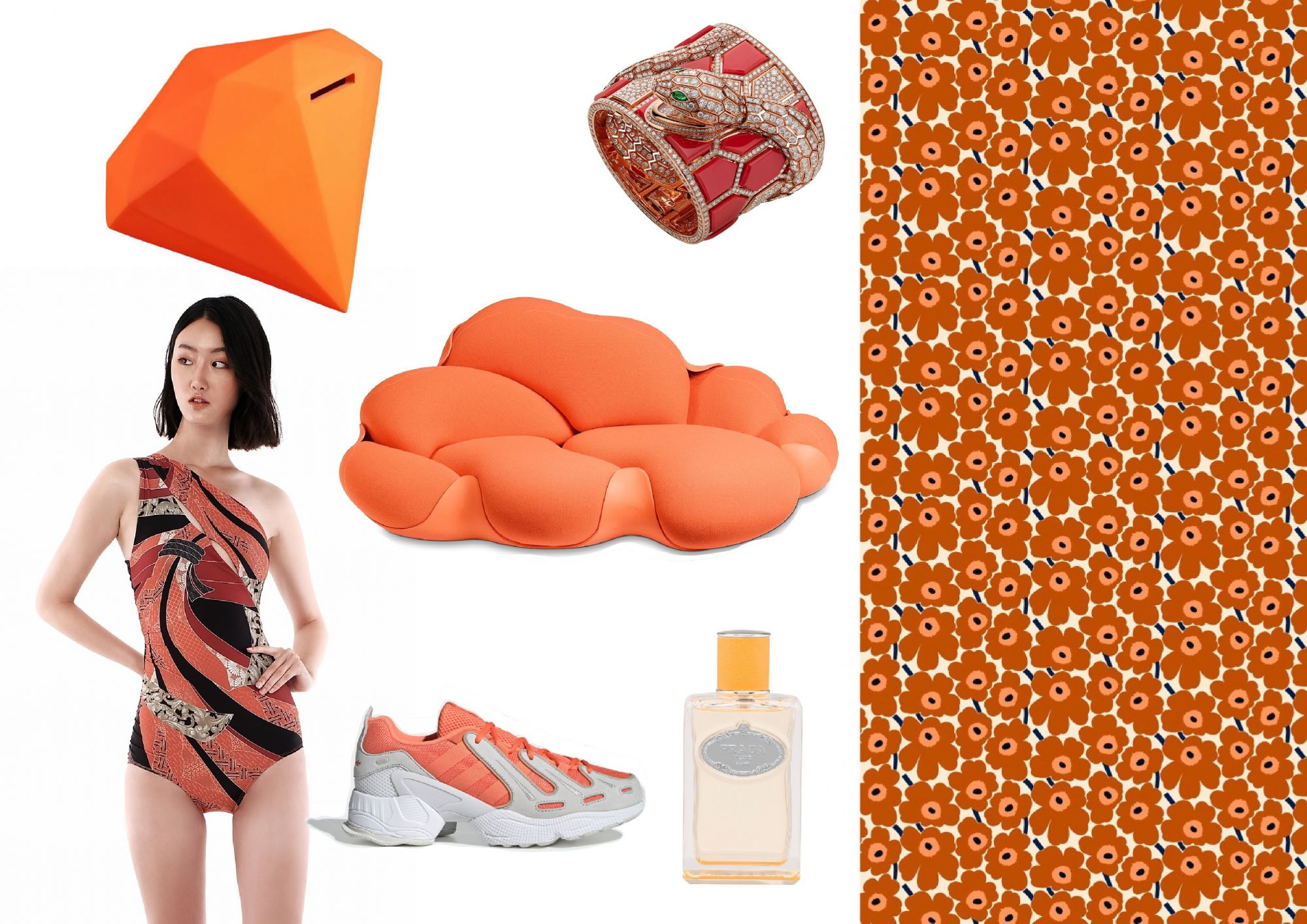 Style By The Colours: Juicy Orange