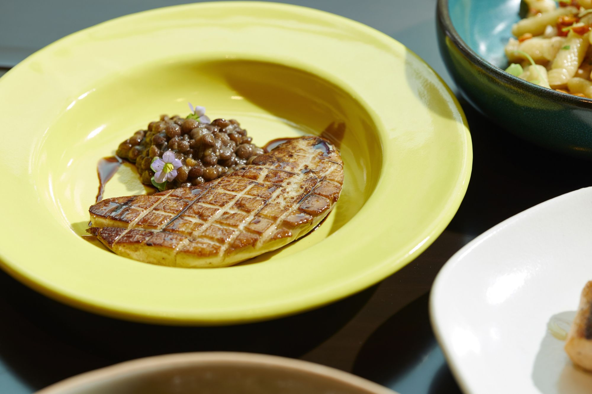 French pan-seared foie gras