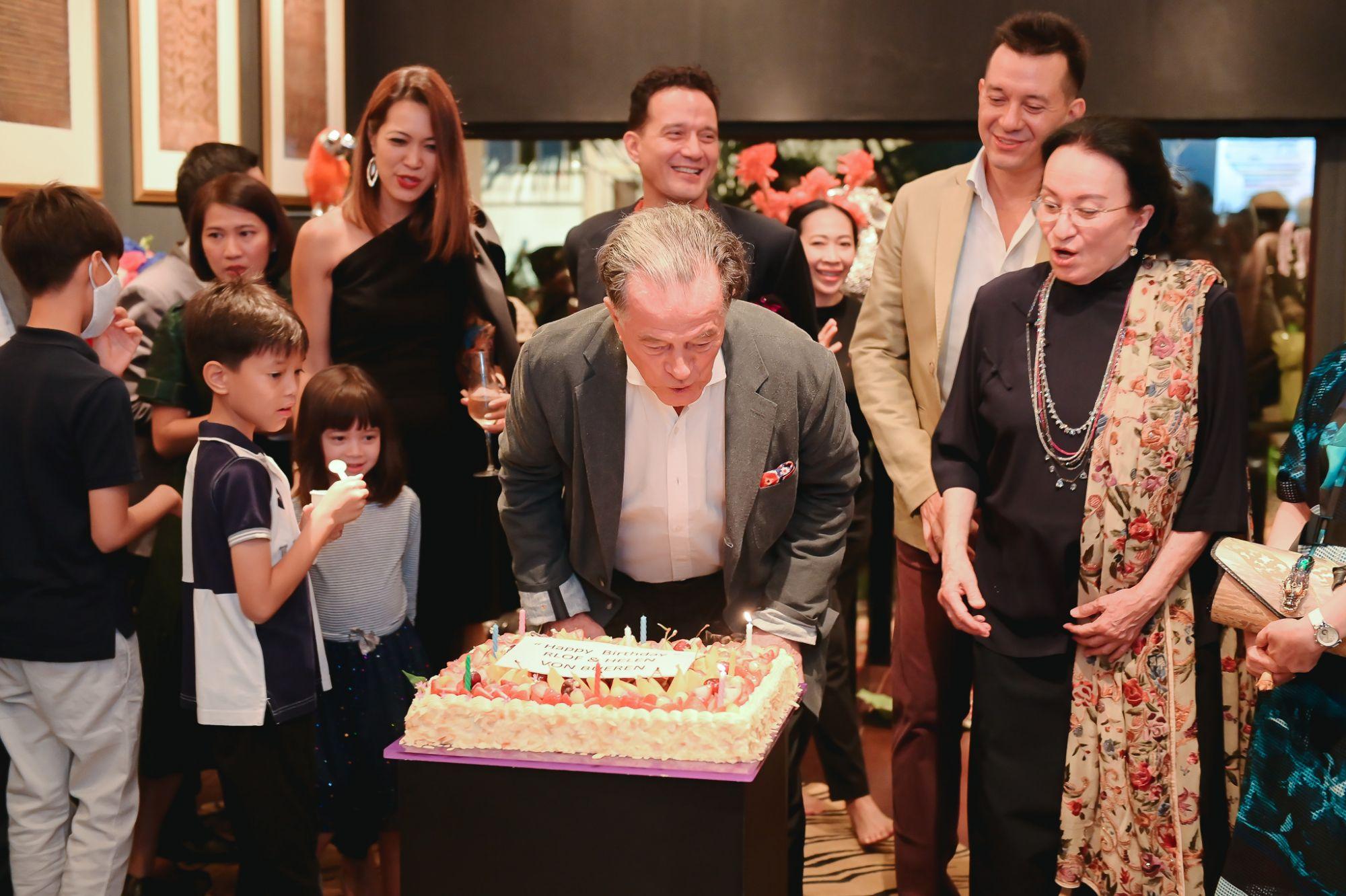 Lotus Arts De Vivre Celebrated Rolf Von Bueren's 80th Birthday With A Charitable Celebration