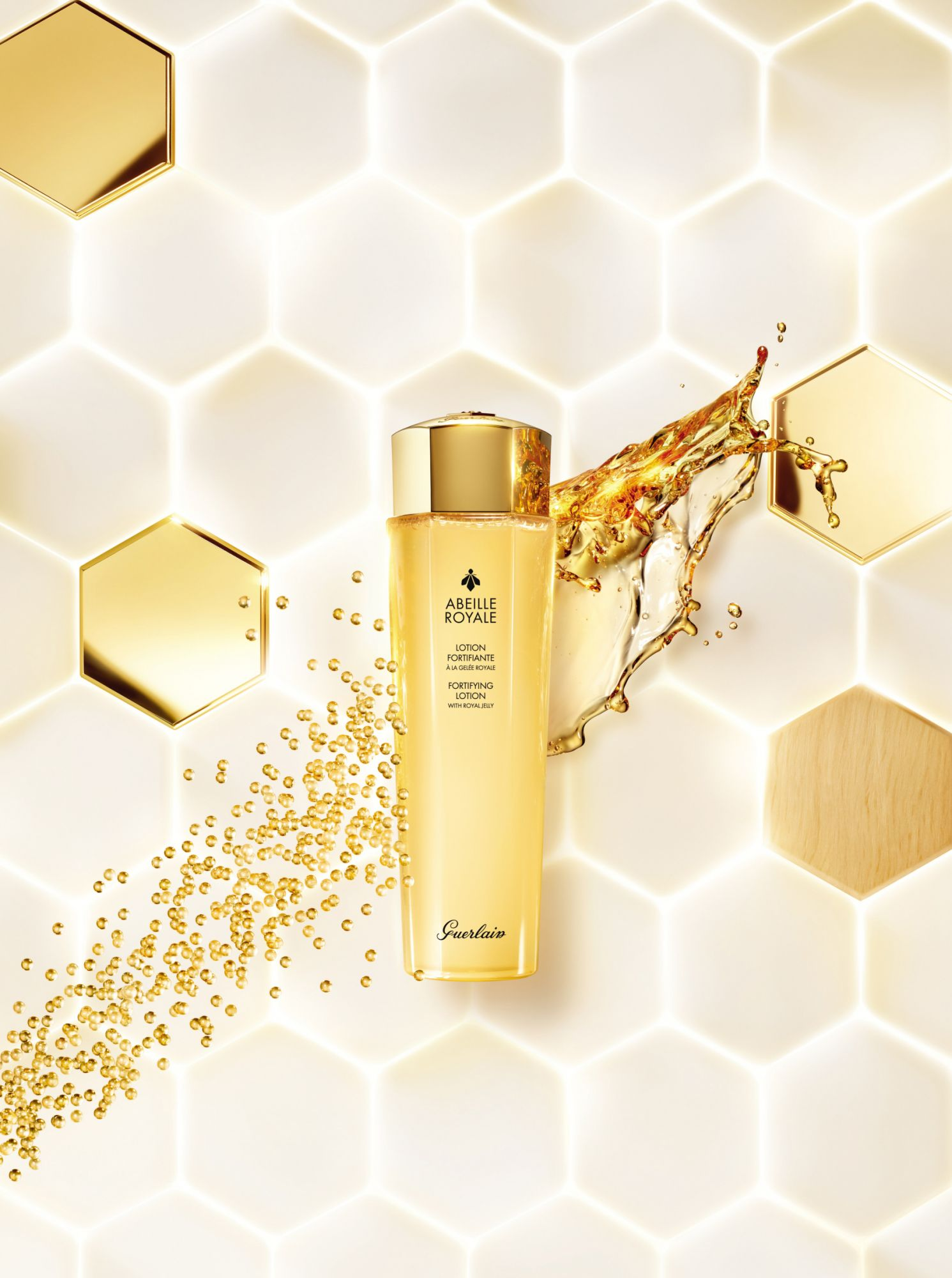 New Guerlain Fortifying Lotion Completes The Abeille Royale Skincare Routine