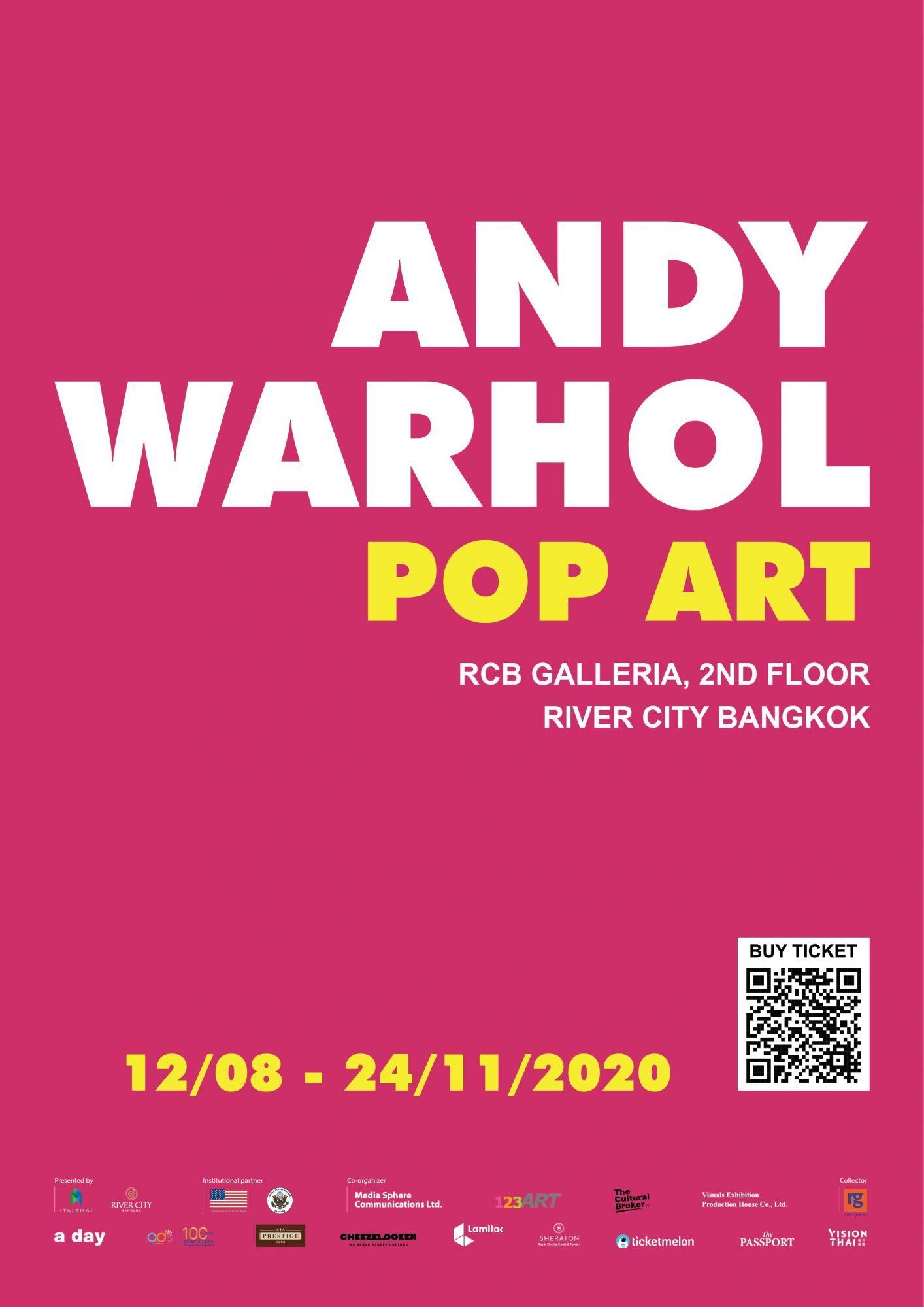 River City Bangkok ภูมิใจเสนอ นิทรรศการ 'Andy Warhol: Pop Art'