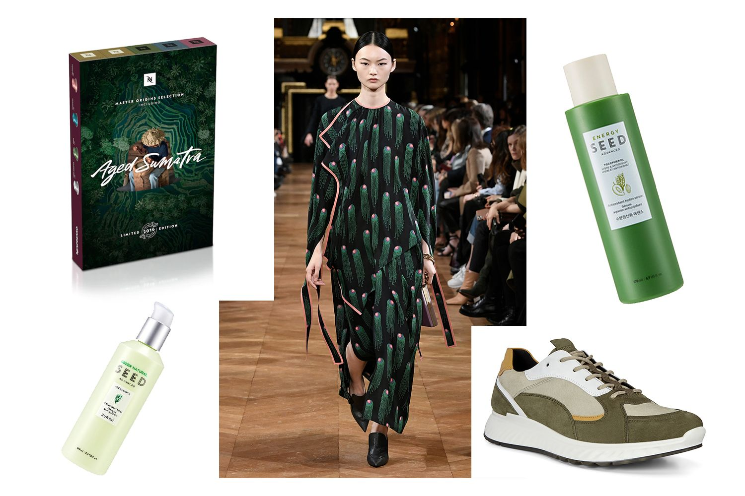 Editor's Picks: Ecco Kicks, Seed Skincare And Jellyfish Dresses