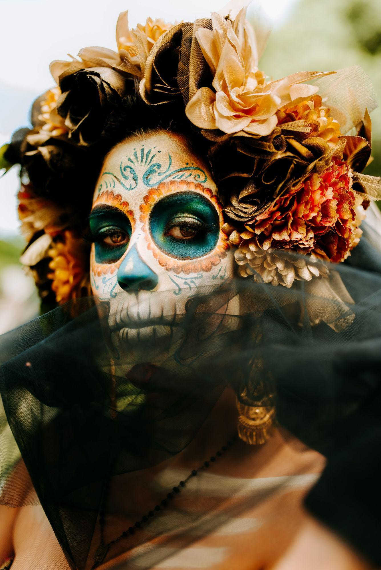 Makeup Inspirations For Día de Los Muertos