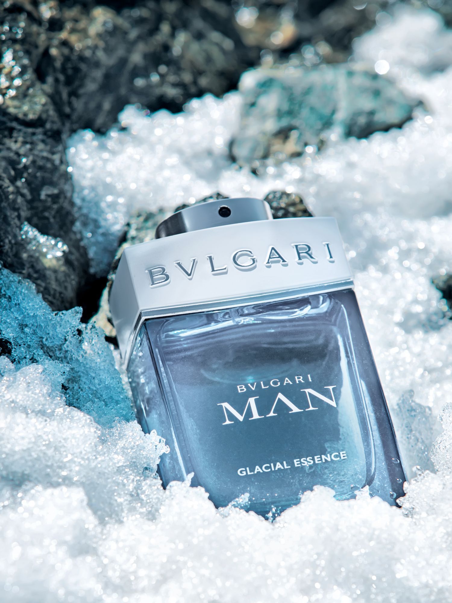 Conquer Greatness With The New Bulgari Man Glacial Essence