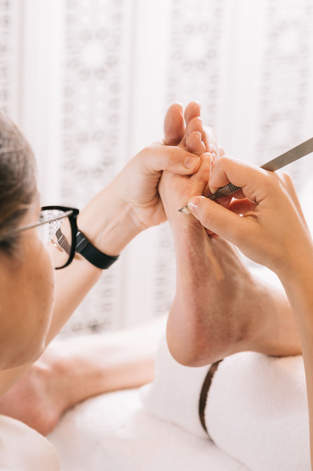 What's It Like To Get A Bastien Gonzalez Pedicure At The Mandarin Oriental