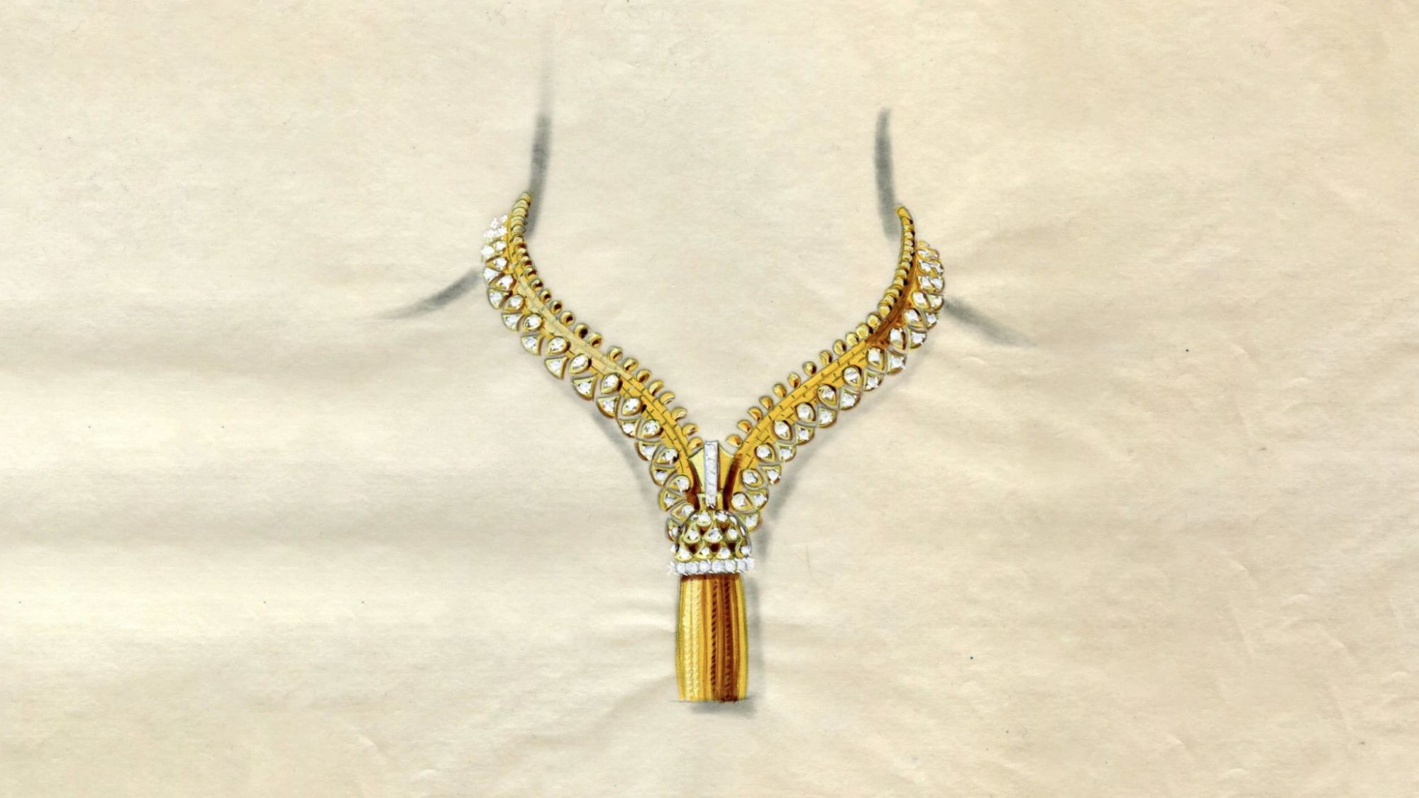 Windsor公爵夫人启发了Van Cleef& Arpels' Iconic Zip Necklace