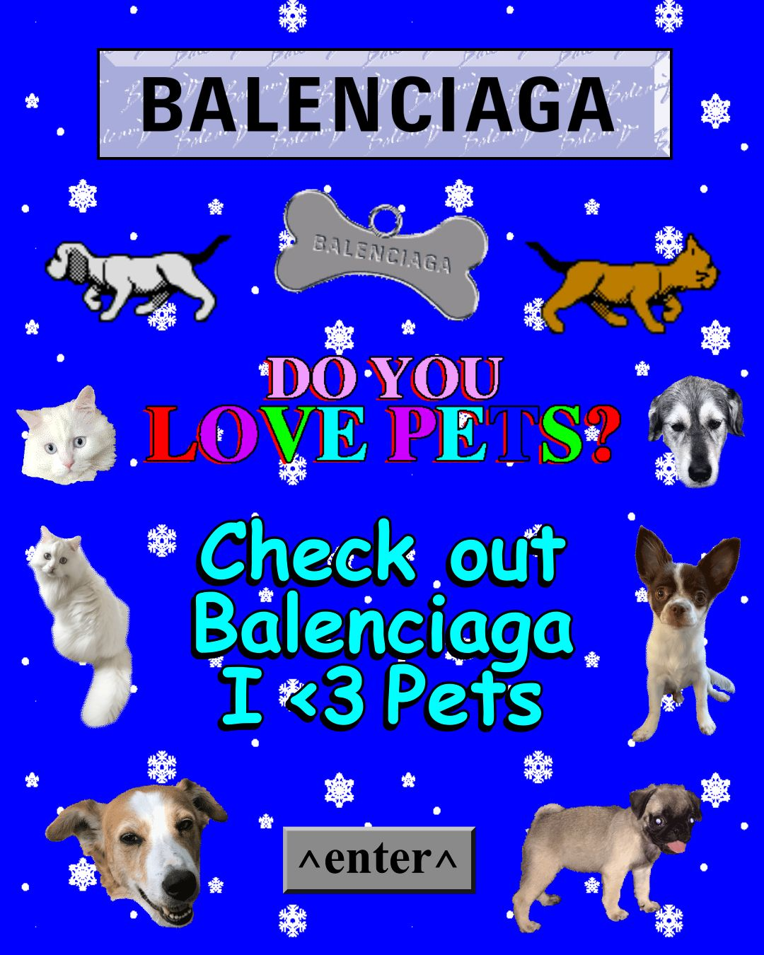 'I Love Pets' Is Balenciaga's Best Collection Yet