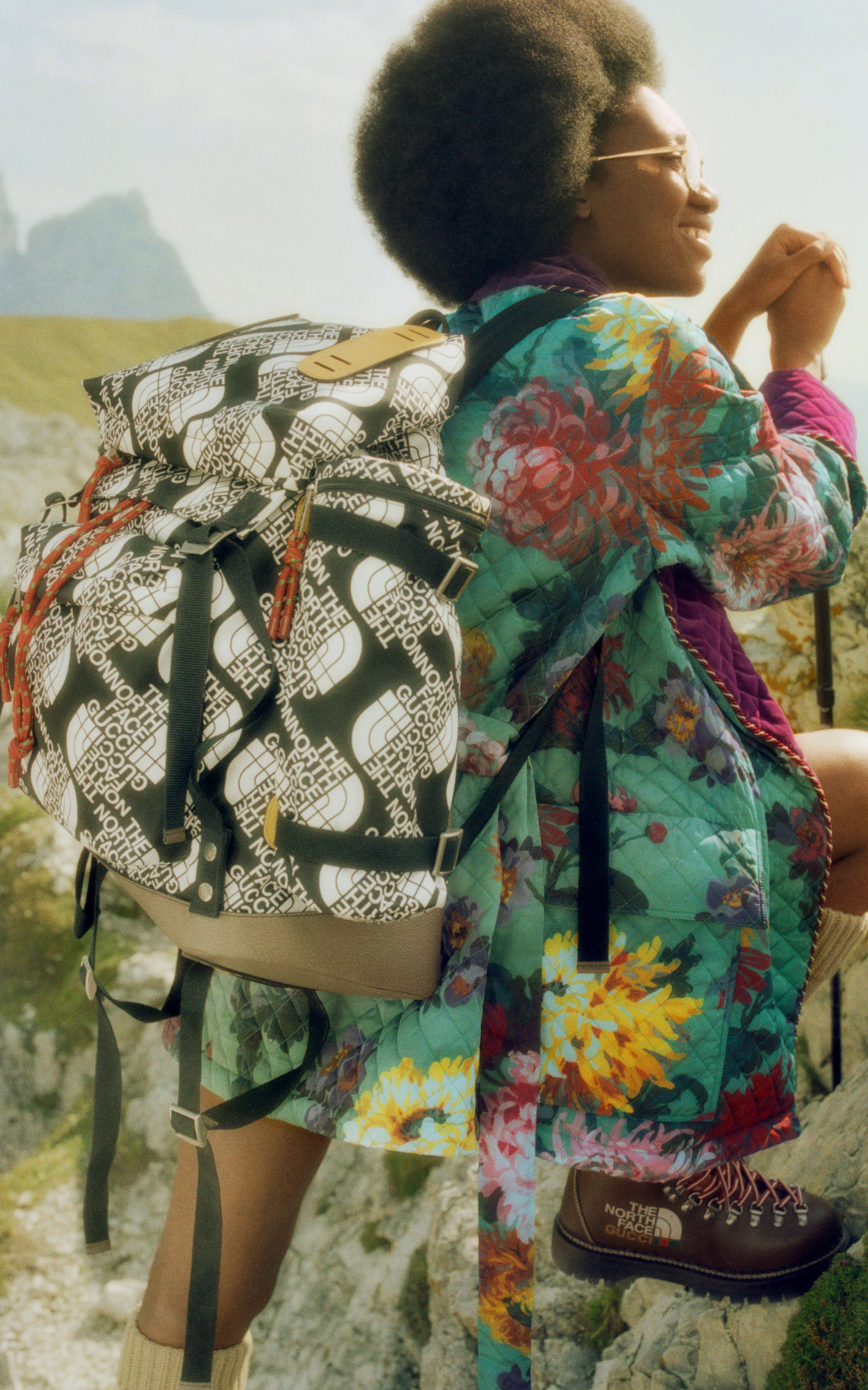 Gucci Celebrates The Great Outdoors With The North Face