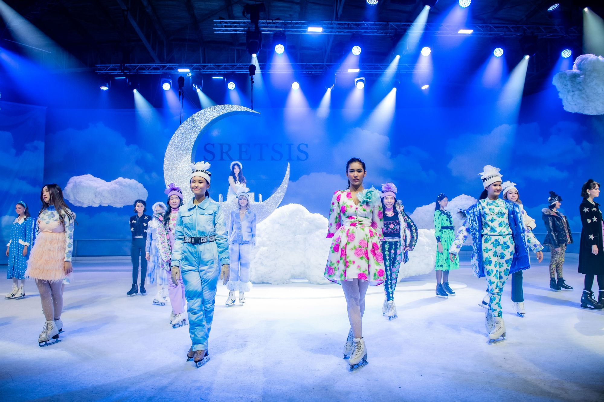 How Sretsis Animated Their Winter Wear Collection With A Show On Ice