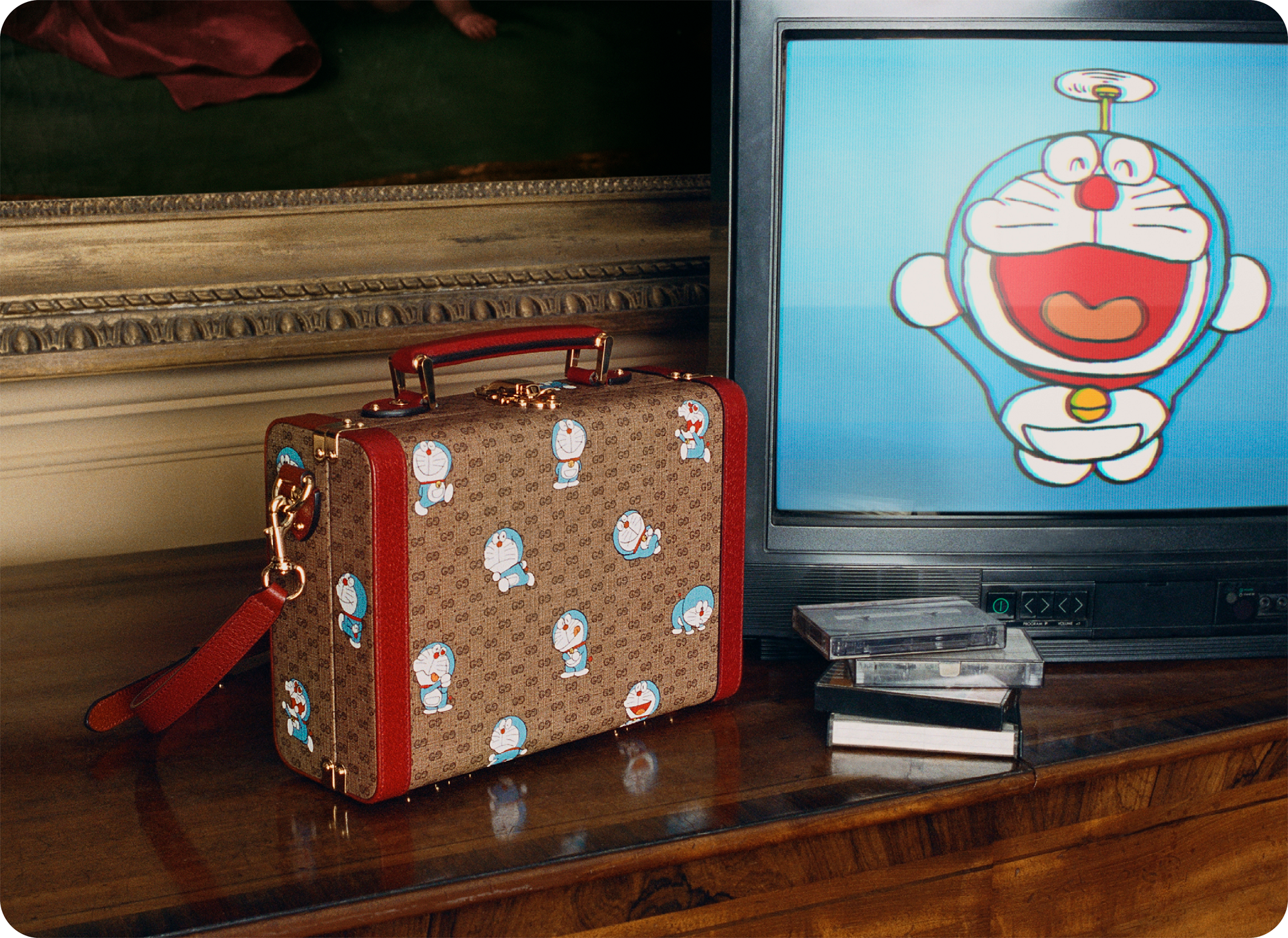 Gucci Celebrates Chinese New Year 2021 With A Special Doraemon Collaboration