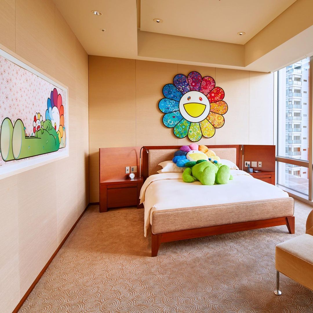 Stay In The World's First Takashi Murakami-Designed Hotel Room At Grand Hyatt Tokyo