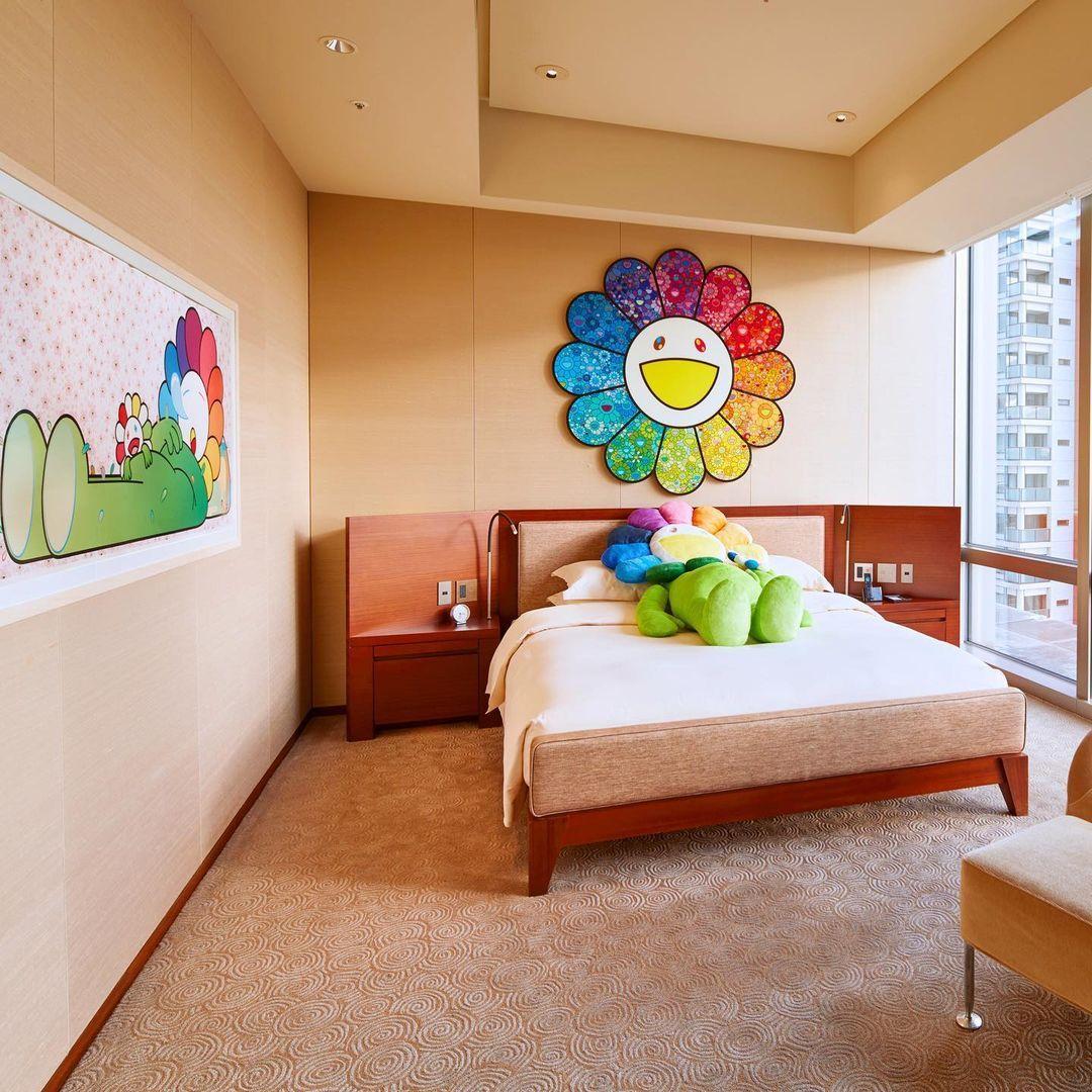 Stay In The World's First Takashi Murakami-Designed Hotel Room At Grand Hyatt Tokyo